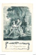 Le Bouquet Bien Reçu  -  Eisen Sculp. - Garvella Grav. Paris - 3388 - Peintures & Tableaux