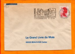 SEINE ET MARNE, Coulommiers, Flamme SCOTEM N° 3418 - Marcophilie (Lettres)