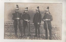 SAUMUR - Carte Photo -Militaires - Sabres - Regiments