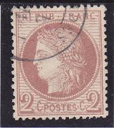 """""""Cérès"""" N° 51 Oblitéré.-  Voir Verso & Descriptif - - 1871-1875 Cérès"""