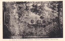 (29) CHATEAU DE KERIOLET - Tapisserie Des Flandres - Vue Du Parc - France