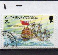 ALDERNEY 1991 Casquets Lighthouse 21p Used - Alderney