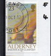 ALDERNEY 1992 Battle Of La Hogue 23p Used - Alderney