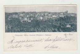 CHIANCIANO - STAZIONE CLIMATICA E BALNEARE - VIAGGIATA 1902 - ITALY POSTCARD - Siena