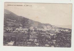 CARELLA CON MARIAGA (LOMBARDIA) - VIAGGIATA 1919 - ITALY POSTCARD - Como