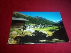 SUISSE ° SAAS ALMAGELL 1673m WALLIS MITTELGRAT UND SEEWJINENHORN  3205m  LE 20 08 1990 - Switzerland