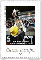 Aland 2016 Mih. 408 II Football. IFK Mariehamn Champion Of Finland MNH ** - Aland