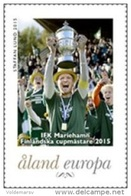 Aland 2015 Mih. 408 I Football. IFK Mariehamn Winner Of Finnish Cup MNH ** - Aland