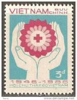 Vietnam 1986 Mi# 1735 (*) Mint No Gum - Vietnamese Red Cross, 40th Anniv. - Red Cross