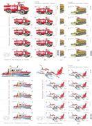 2017. Ukraine, History Of Fire Transport In Ukraine, 4 Sheetlets, Mint/** - Ucrania