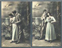 CPA - COUPLE - 3 CARTES - Couples