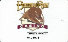 Buffalo Run Casino Miami, OK Slot Card - Casino Cards