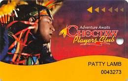 Choctaw Casino Oklahoma - Slot Card - Casino Cards