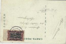 1916-  SUPERB Japonese Postcard   From Ruanda  Fr. Y & T N°33 Surcharge Bilingue EST AFRICAIN ALLEMAND .OCCUPATION BELGE - Ruanda-Urundi