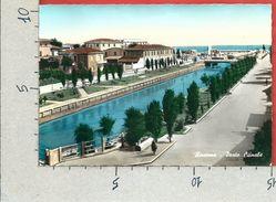 CARTOLINA VG ITALIA - RICCIONE (RN) - Porto Canale - 10 X 15 - ANN. 1956 - Rimini