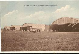 Camp D'AVORD -  Les Hangars En Ciment (avion ) 96 - Avord