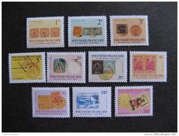 Polynésie:  TB Série Timbres De Service N° 16 Au  N° 25, Neufs XX. - Service
