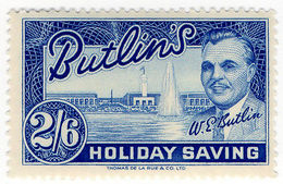 (I.B) Cinderella Collection : Butlins Holiday Saving 2/6d - 1902-1951 (Kings)