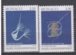 MONACO      N° YVERT  :    1850/51    NEUF SANS CHARNIERE - Neufs