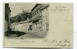 CPA  54  :  DUN Sur MEUSE  Hotel De Ville    A  VOIR  !!!!!!! - Dun Sur Meuse