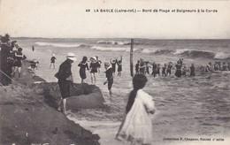 La Baule  ( 44 Loire Atlantique )  Bord De Plage Et Baigneurs à La Corde - La Baule-Escoublac