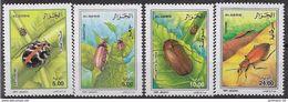 2000 ALGERIE 1259-62** Insectes - Algeria (1962-...)