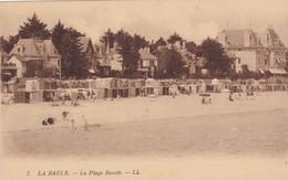 La Baule  ( 44 Loire Atlantique )  La Plage  Benoit - La Baule-Escoublac