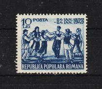 1949 - L Union Des Principates Michel 1178 Et Yv No 1077 MNH - Ungebraucht