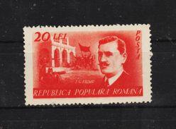 1949 - Chef Syndicaliste I.C.Frimu  Mi 1179A Et Yv 1078 MNH - Ungebraucht