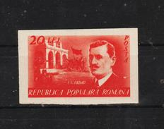 1949 - Chef Syndicaliste I.C.Frimu  Mi 1179B Et Yv 1078a MNH - Ungebraucht