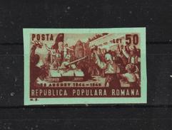 1949 - 5 Anniv. De La Delivrance Du Pays Mi 1191B Et Yv 1081a  Non Dentele MNH - Ungebraucht