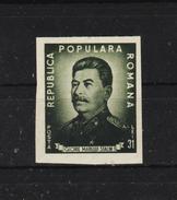 1949 - STALIN  Mi No 1195B Et Yv No 1087a - Ungebraucht