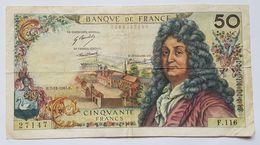 BILLET - FRANCE - P.148c - 50 FRANCS - RACINE - 07/12/1967 - 1962-1997 ''Francs''