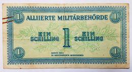 BILLET - AUTRICHE - P.103 - 1 SCHILLING - OCCUPATION DES ALLIES - SERIE 1944 - Autriche