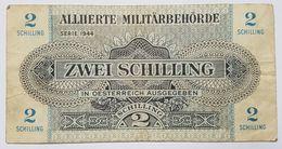 BILLET - AUTRICHE - P.104 - 2 SCHILLING - OCCUPATION DES ALLIES - SERIE 1944 - Autriche