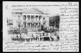 Postcard / ROYALTY / Belgium / Belgique / Prince Albert / Princesse Elisabeth / Bruxelles / 1900 /  Palais De La Bourse - Monumenti, Edifici