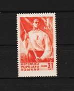 1950 - Commemoration Du 1 Mai  Mi No 1208 Et Yv No 1113 MNH - Ungebraucht