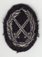 Insigne De Bras Du Brevet Militaire Professionnel - Echelon Argent - Ecussons Tissu