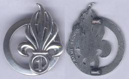 Insigne De Béret Du 1er Régiment Etranger - Army