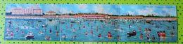 Cartolina Lido - Venezia Panorama Generale Dei Bagni è Come Da Foto - Venezia (Venice)