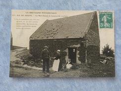 ILE DE GROIX - LE MARCHAND DE BOUSES DE VACHES - 56 - Groix
