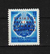 1950 -  L Amitie Roumano - Hongroise  Mi 1238 Et Yv  1124 MNH - Ungebraucht