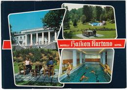 Haikko - Hotellin Edusaa - Hotel , Uimalli - The Indoor Swimming Pool, Puistoa - Park - (Suomi/Finland) - Finland