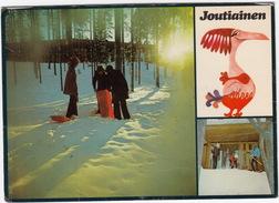 Joutiainen: SLEDGE, SNOW, SKI - Rantasipi Joutsenkampi, Joutsa - (Suomi/Finland) - Finland