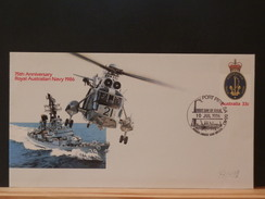 73/431  FDC AUSTRALIE - Hélicoptères