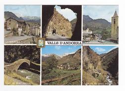 Valls D'Andorra Andorre N°8 La Massana Ermita Pont De Sant Antoni PAL Tunnel 403 Peugeot Bétaillère Renault Fiat 650 - Andorre