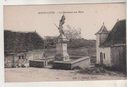 MONTFAUCON - Le Monument Aux Morts - France