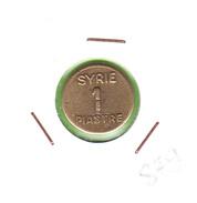 SYRIE / UNE PIASTRE  NON DATEE - EMISSION LOCALE DE 1942 A 1945 / BEL ETAT - Syrie