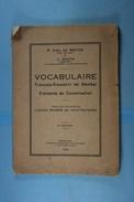 Vocabulaire Français Kiswahili (et Bemba) Eléments De Conversation 1929 - Culture