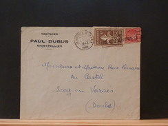 73/446A  LETTRE FRANCE 1947  OBL. JAMB. DE LA PAIX - Padvinderij